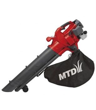 Воздуходувка (садовый пылесос) бензиновая MTD BV 3000 G - фото 4435