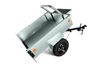 Тележка Мобил К ТПМ-350-1 оцинкованная разборная для мотоблока вид 3
