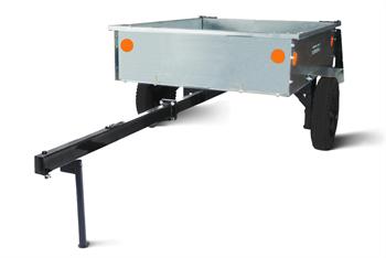 Тележка Мобил К ТПМ-350-1 оцинкованная разборная для садовых тракторов и райдеров вид 3