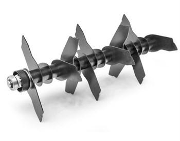 Вал сменный с ножами для вертикуттера Optima 34 VE - фото 6456