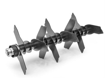 Вал сменный с ножами для вертикуттера Optima 38 VO - фото 6463