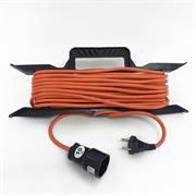 Удлинитель электрический 10 метров 2200 Вт - на рамке