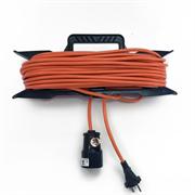 Удлинитель электрический 30 метров 2200 Вт - на рамке