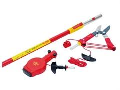 Секатор для обрезки деревьев с телескопической ручкой и кордом-автоматом RC-M/ZS-M/ZM-V3